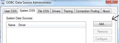 odbc administrator